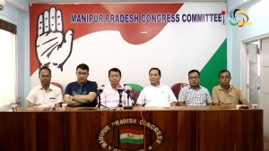 MPCC alleges that Govt ratifies giving of some land of Manipur to Myanmar