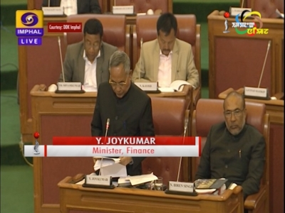 BJP led State Government presents total estimated budget of 13733.62 crore rupees for the year 2018-2019
