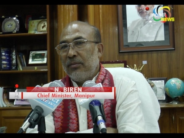 CM N Biren assures to urge Amit Shah to add protective clause for Manipur while implementing CAB