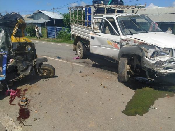1 KILLED, 4 INJURED IN YAIRIPOK-THOUBAL ROAD MISHAP