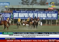 Manipur Police Sports Polo Club-A and X-Polo Club, Wangkhei, entered the semi-final of the 26th Governor's Cup Invitational Polo Tournament