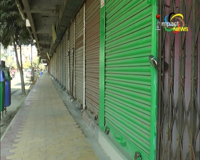 State wide 42- hour bandh called by Kangleipak Communists Party (KCP) Military Council affects normal life in Manipur